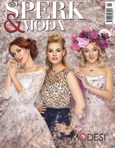 Časopis Šperk&Móda červenec 2017 - rozhovor s Annou Julií Slováčkovou, Lankou Vacvalovou a Patricií Solaříkovou