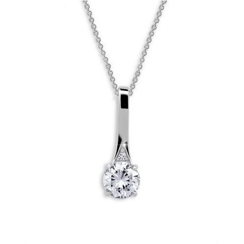 Stříbrný náhrdelník MODESI JA33916CZ Necklace