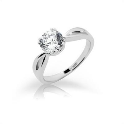 Stříbrný prsten MODESI JA17256CZ Ring