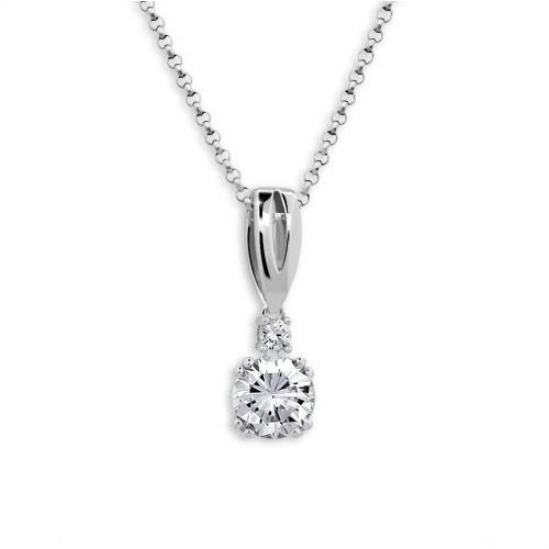 Stříbrný náhrdelník MODESI JA33926CZ Necklace
