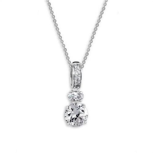 Stříbrný náhrdelník MODESI JA33920CZ Necklace