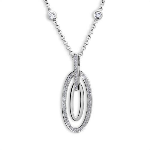212 Stříbrný náhrdelník MODESI WYDBK-N Necklace