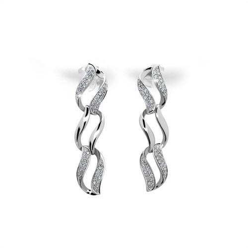 213 Stříbrné náušnice MODESI WAHMY-E Earring