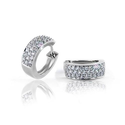 Stříbrné náušnice MODESI WYDXG-E Earring