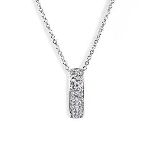 Stříbrný náhrdelník MODESI WYDXG-N Necklace