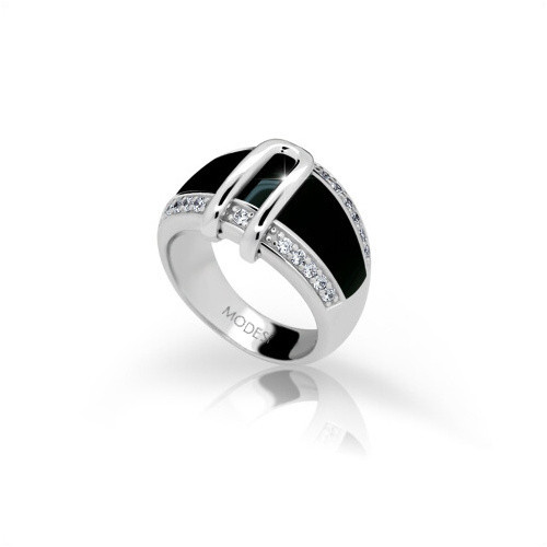 Stříbrný prsten MODESI JA17176CZ Ring