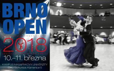 Brno Open 2018 – Mistrovství Evropy v 10 tancích