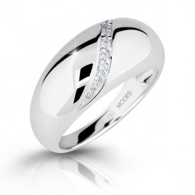 Prsten MODESI M16017 Ring se zirkony