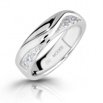 Prsten MODESI M16026 Ring se zirkony