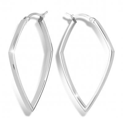 Náušnice MODESI M26006 Earring Rhodium plated