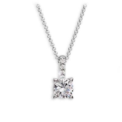 Stříbrný náhrdelník MODESI TA5001CZ Necklace