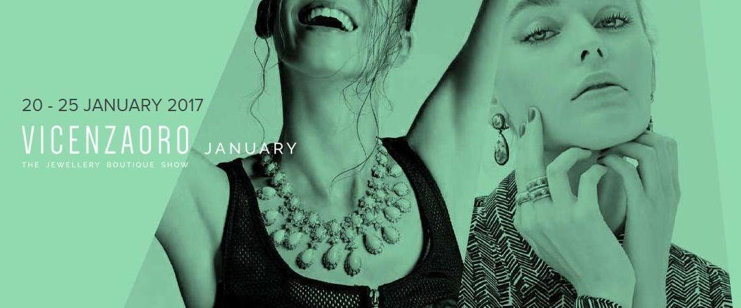 VICENZAORO výstava šperků leden 2017