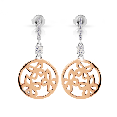 Náušnice MODESI J202CZ-R Earring