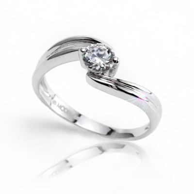 Q8329L Ring stříbrný prsten MODESI