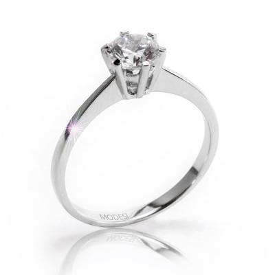 QJR1565L Ring stříbrný prsten MODESI