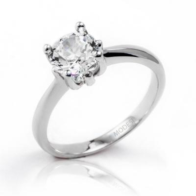 QJR1948L Ring stříbrný prsten MODESI