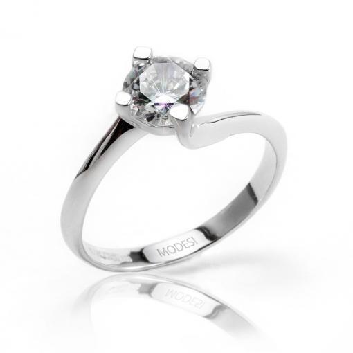 QJR2076L Ring stříbrný prsten MODESI