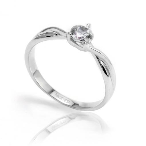 QJR2091L Ring stříbrný prsten MODESI